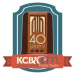 KCBX 40th Radio logo