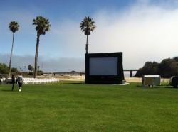 Screen at Avila