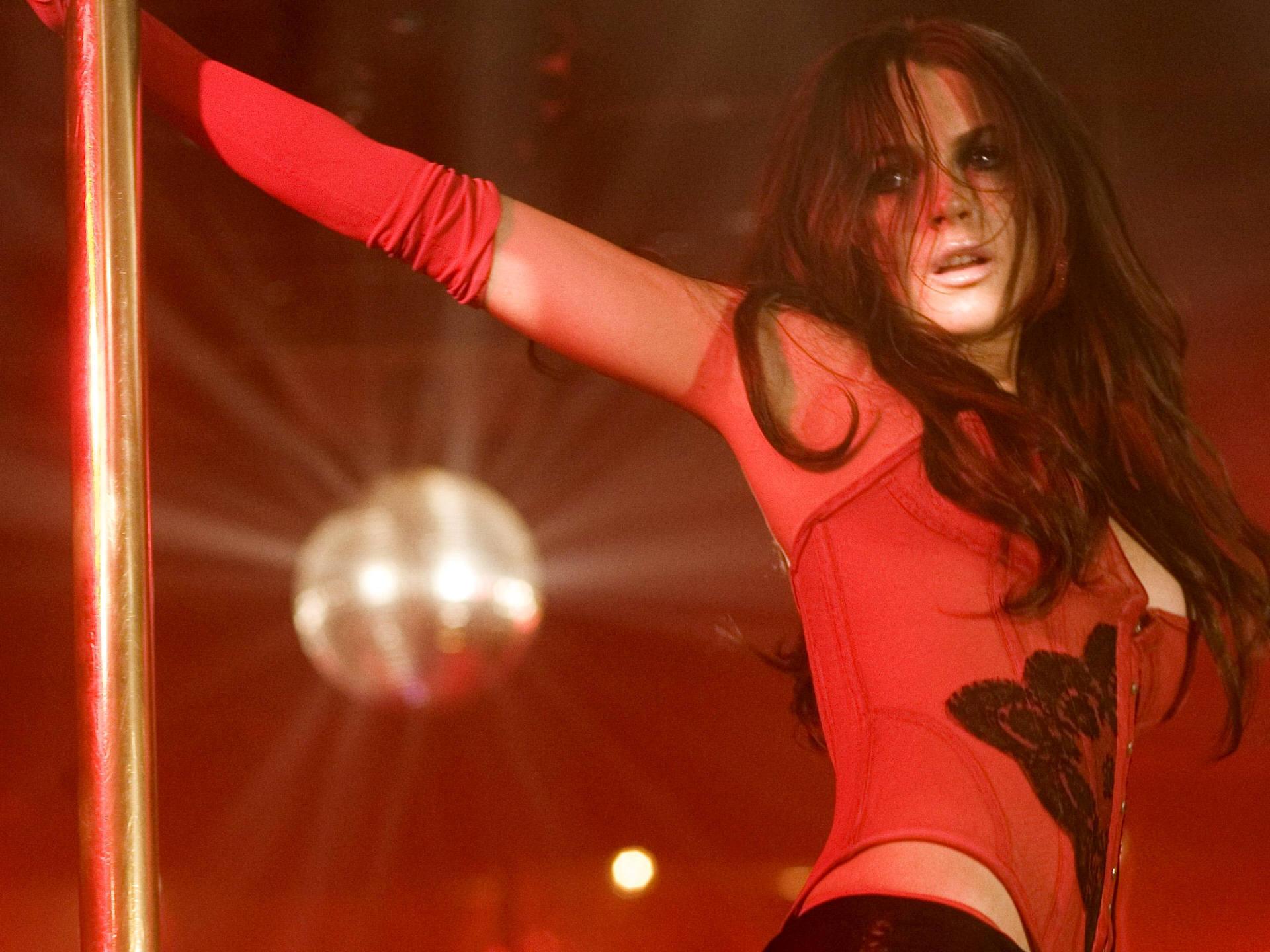 Hot redhead stripper