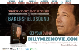 BILLY MIZE Fest Promo