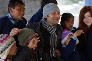 Raj and kids